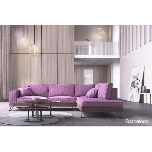 Γωνιακός καναπές Barcelona