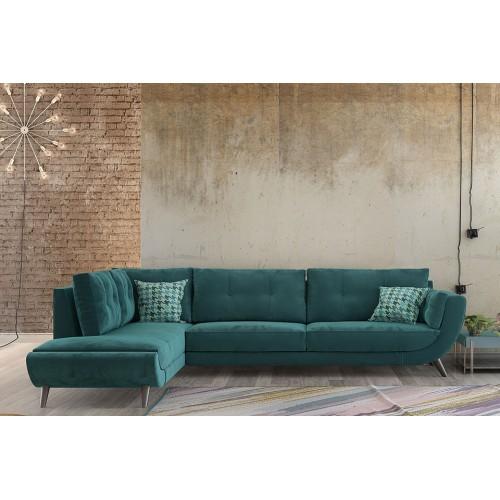 Γωνιακός καναπές Nefeli