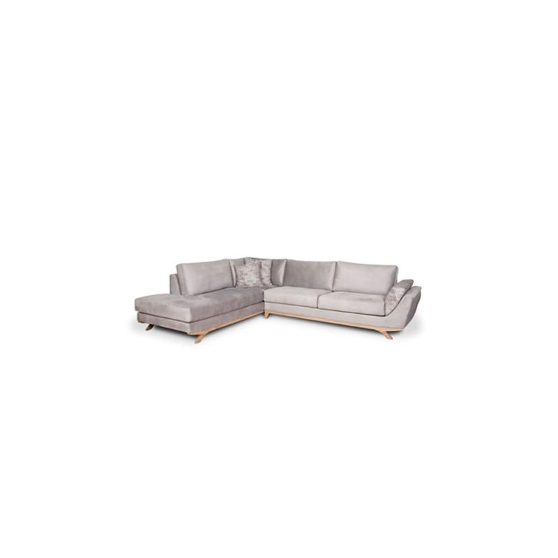 Γωνιακός καναπές Round