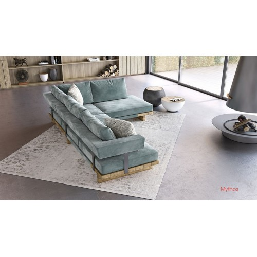 Γωνιακός καναπές Myhtos